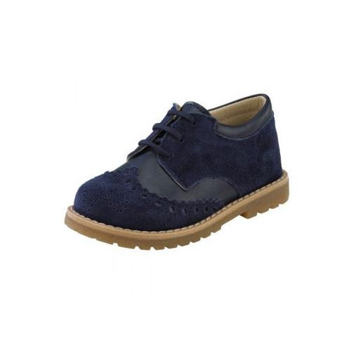Παιδικό παπούτσι αμπιγιέ για αγόρι μπλε Gorgino 3025-5