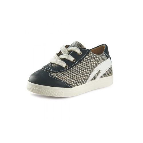 Παιδικό παπούτσι αμπιγιέ για αγόρι μπλε Gorgino 3082-3