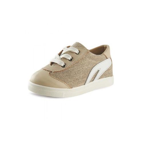 Παιδικό παπούτσι αμπιγιέ για αγόρι εκρού Gorgino 3082-4