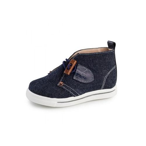 Παιδικό παπούτσι σνίκερ μποτάκι για αγόρι μπλε Gorgino 3091-2