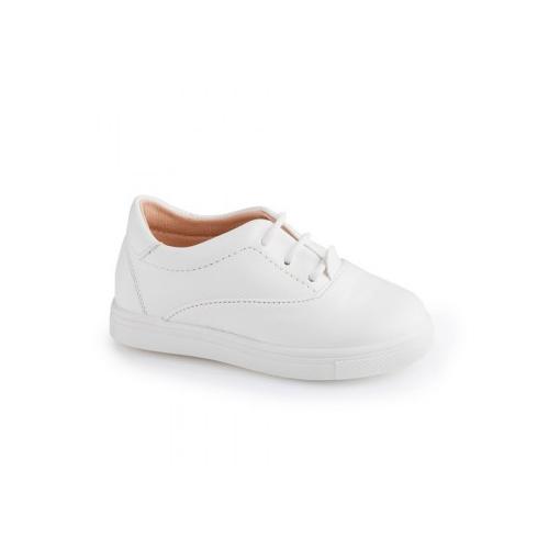 Παιδικό παπούτσι αμπιγιέ για αγόρι λευκό Gorgino 3116-1