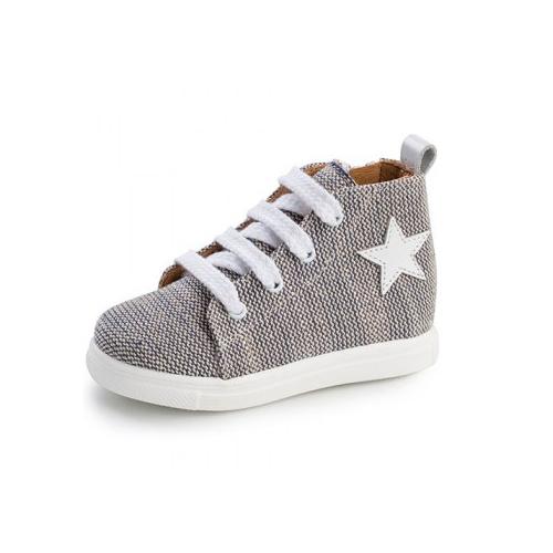 Παιδικό παπούτσι σνίκερ μποτάκι για αγόρι μπλε Gorgino 3133-2