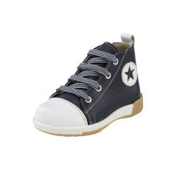 Gorgino Παιδικό παπούτσι Sneaker μποτάκι για αγόρι μπλέ 871-1