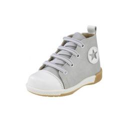Gorgino παιδικό παπούτσι Sneaker μποτάκι για αγόρι γκρί 871-6