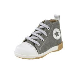Gorgino παιδικό παπούτσι Sneaker μποτάκι για αγόρι γκρί 872-1