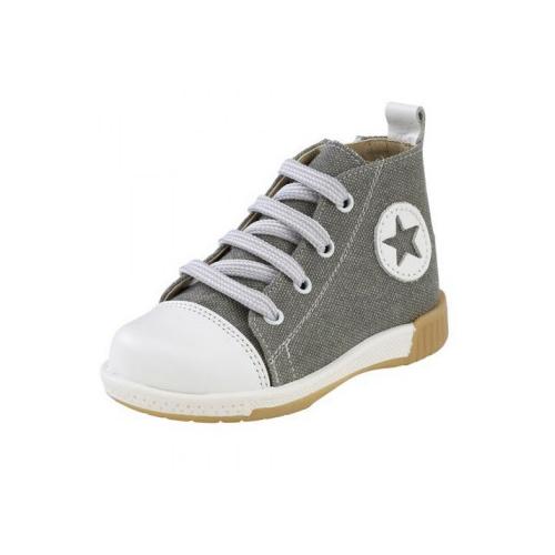 Παιδικό παπούτσι Sneaker μποτάκι για αγόρι γκρί 872-1