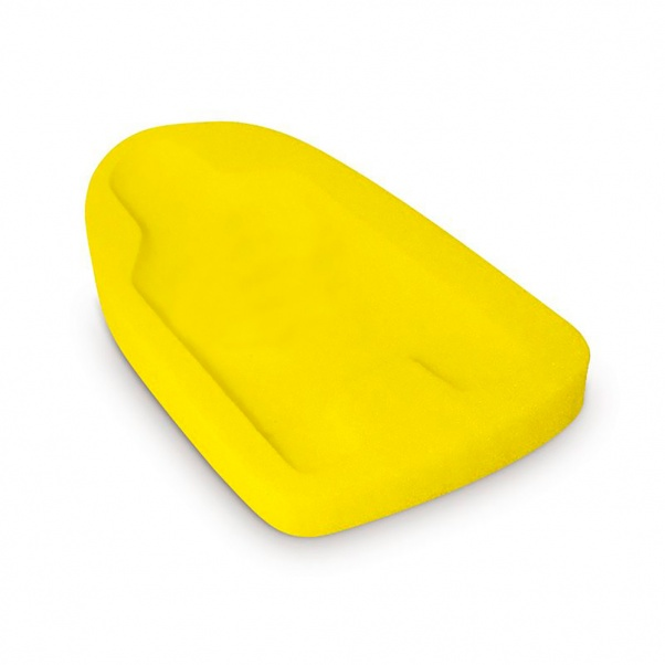 Just Baby Safety Sponge for Bath - Yellow