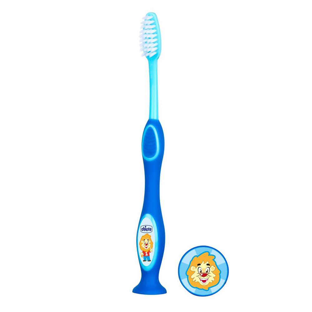 Chicco Οδοντόβουρτσα Μπλε 3-6Υ