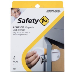 Safety 1st ασφάλεια ντουλαπιών μαγνητική 2τμχ