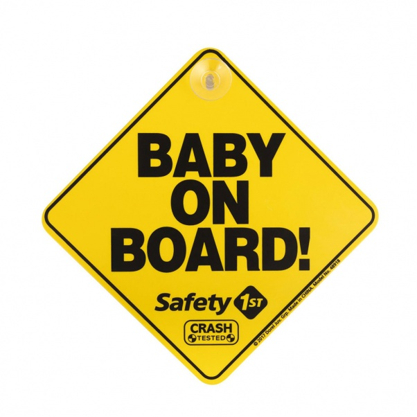Safety 1st Baby on bοard με βεντούζα