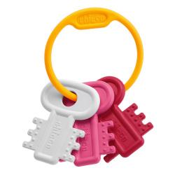 Chicco χρωματιστά κλειδιά ροζ