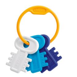 Chicco χρωματιστά κλειδιά σιέλ