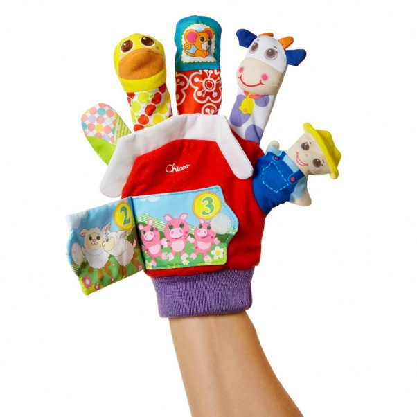 Chicco Γάντι-Δάχτυλο Μαριονέτες