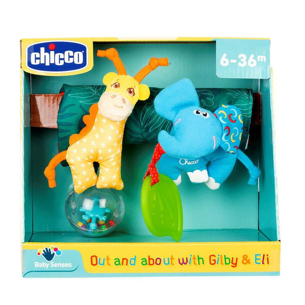 Chicco Παιχνίδι Καροτσιού Gilbi Και Eli