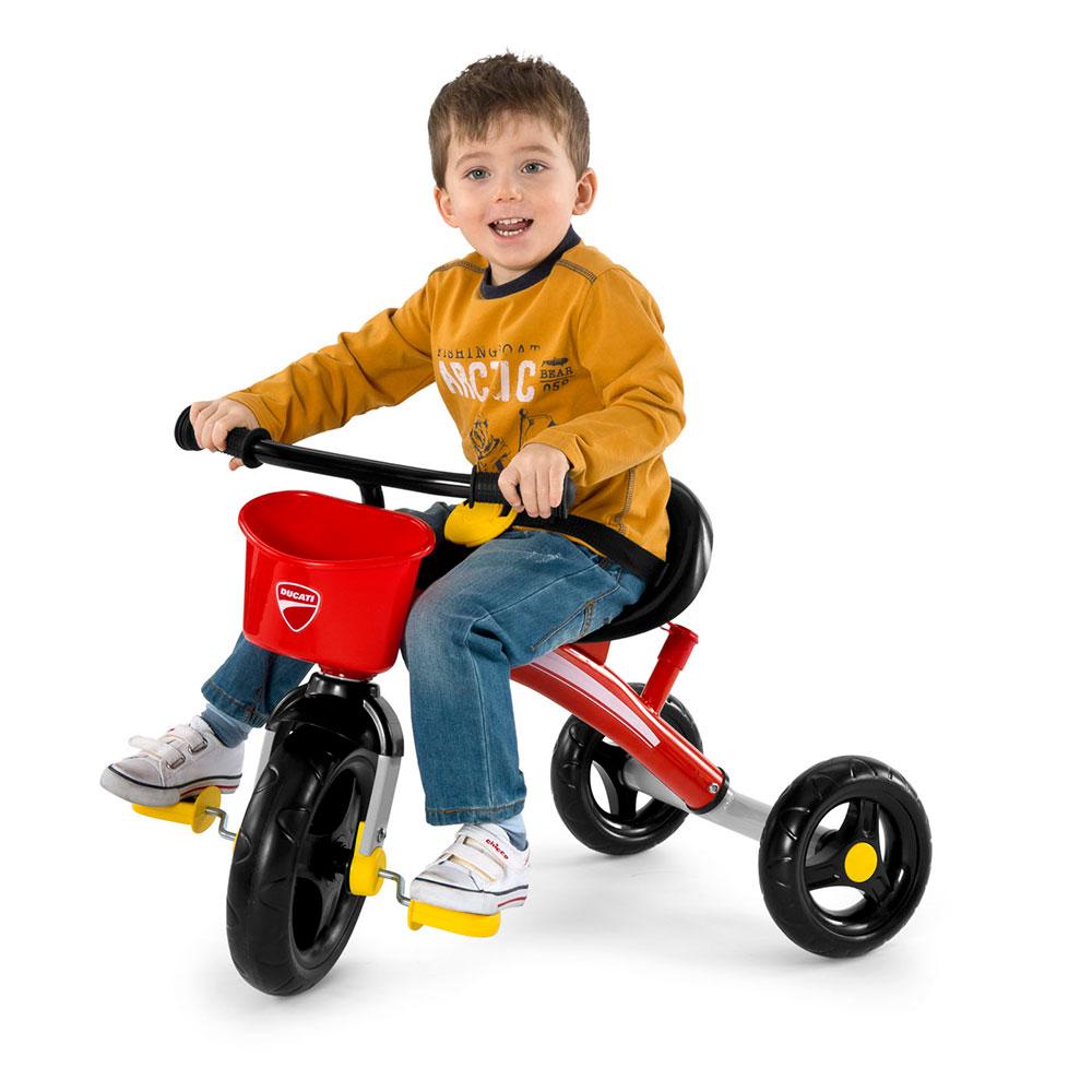 Chicco Tρίκυκλο ποδηλατάκι U GO DUCATI