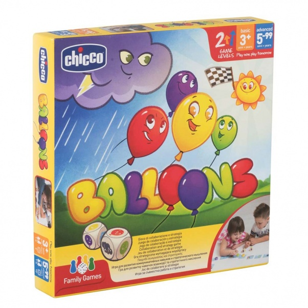 Chicco Επιτραπέζιο Παιχνίδι Baloons