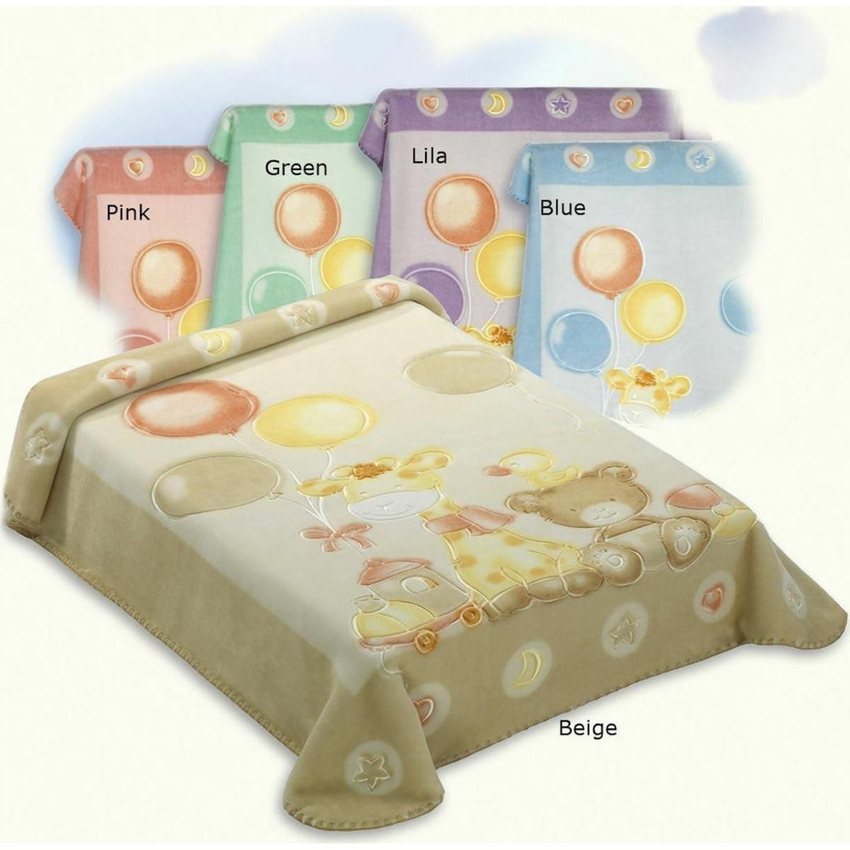 Bunny bebe βρεφική κουβέρτα βελουτέ Belpla Dralon 546