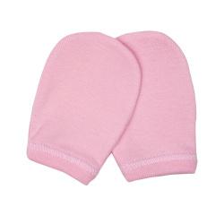 Bunny bebe βρεφικά γαντάκια μακό ροζ