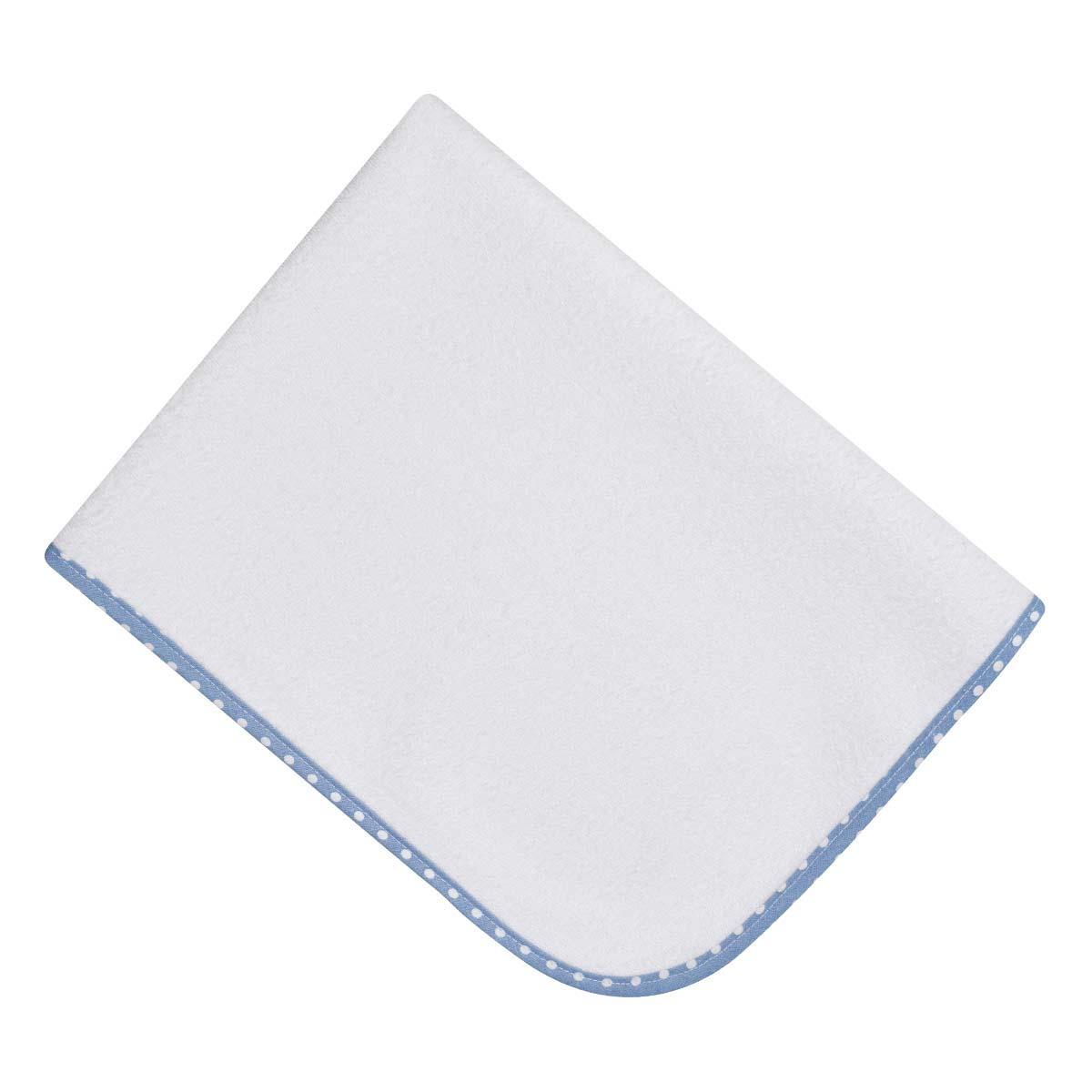 Bunny bebe σελτεδάκι 45×65 με ρέλι μπλε πουά