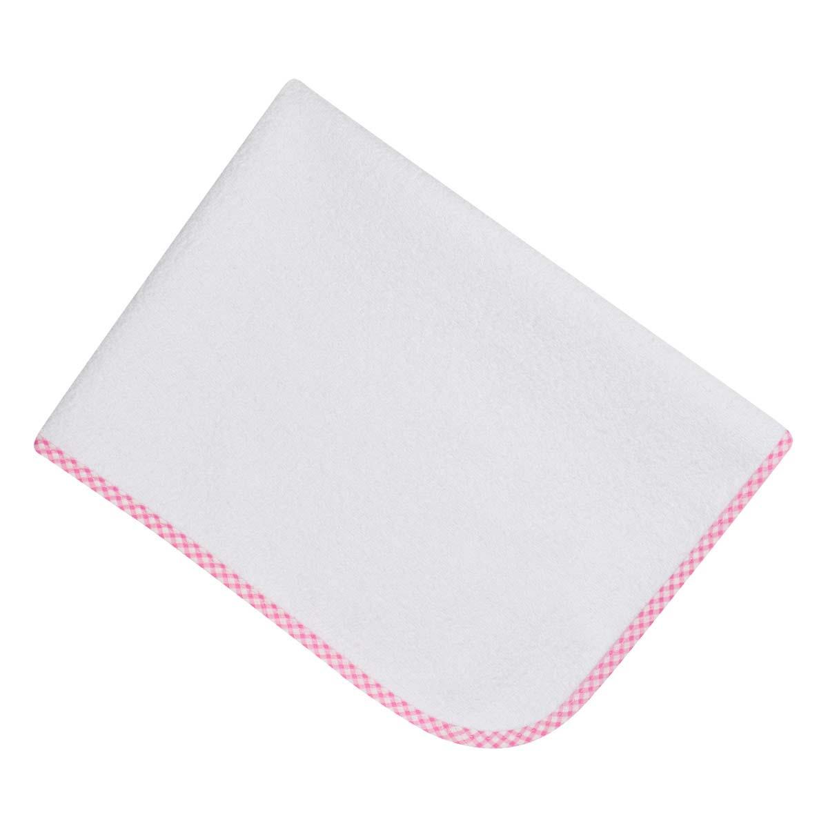 Bunny bebe σελτεδάκι 45×65 με ρέλι ροζ καρό