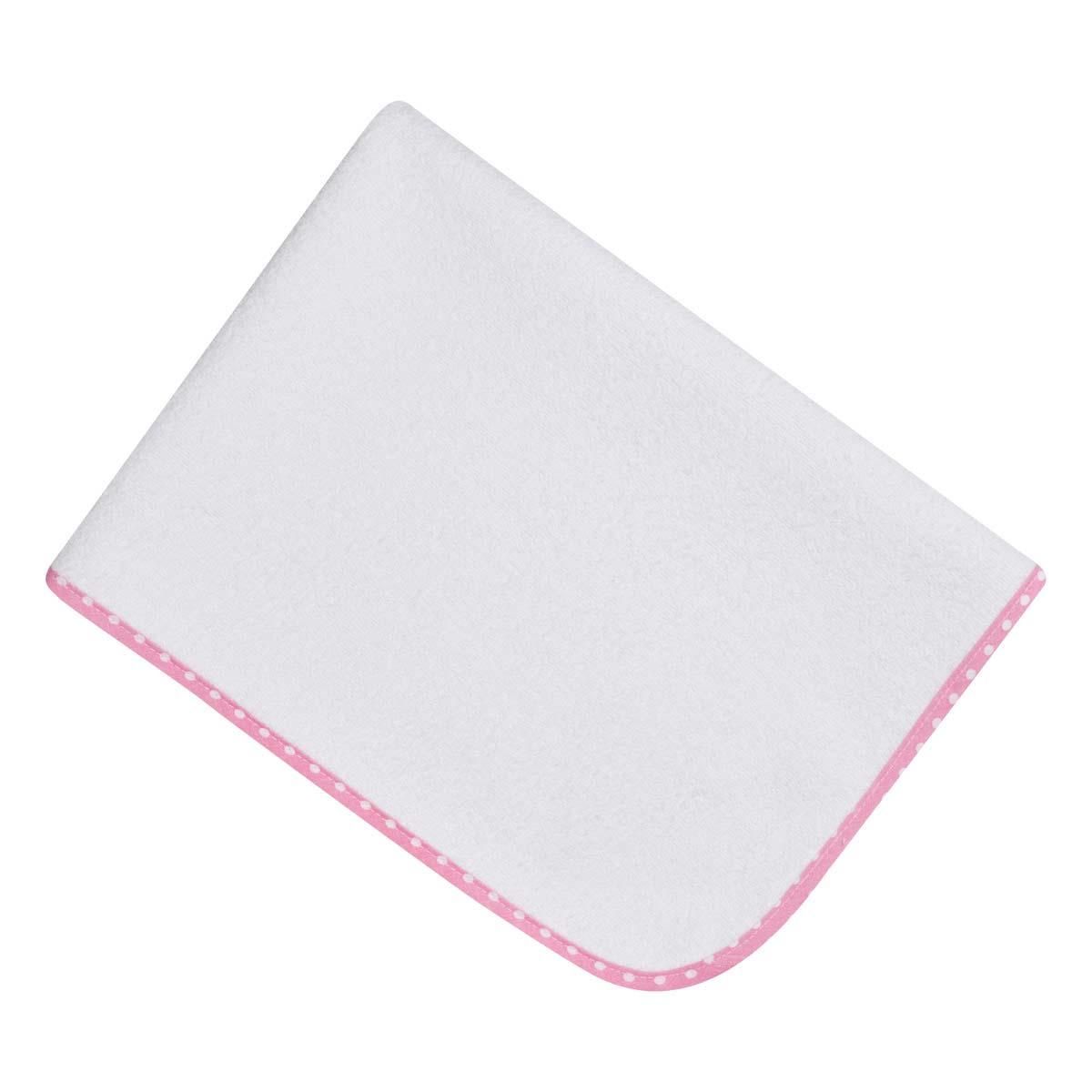 Bunny bebe σελτεδάκι 45×65 με ρέλι ροζ πουά