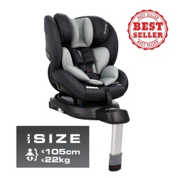 Bebe Stars κάθισμα αυτοκινήτου Megan i-Size 360° Grey 926-186