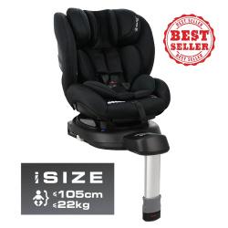 Bebe Stars κάθισμα αυτοκινήτου Megan i-Size 360° Black 926-188