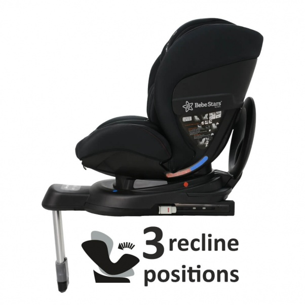 Bebe Stars Car seat Megan i-Size 360° Black 926-188