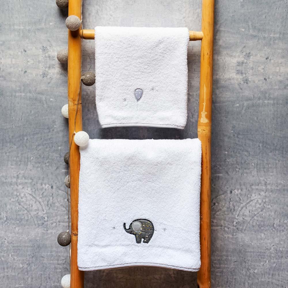 Abo Σετ πετσέτες 2 ΤΜΧ  ELEPHANT BCYCLE
