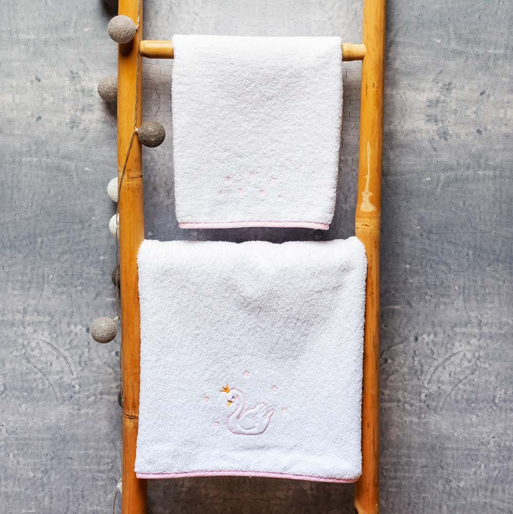 Abo Σετ πετσέτες 2 ΤΜΧ  SWAN