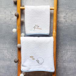 Abo Σετ πετσέτες 2 τμχ Hedgehog