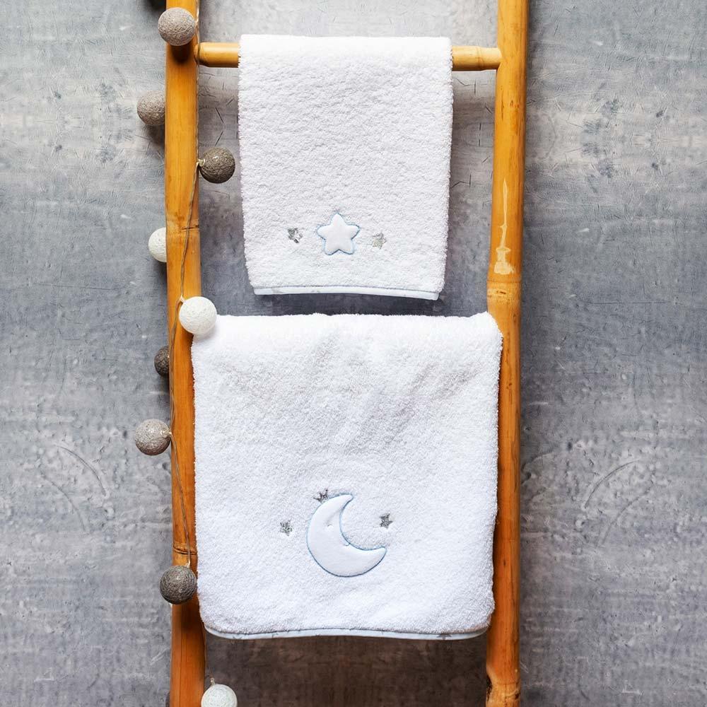 Abo Σετ πετσέτες 2 ΤΜΧ  MOON PRINCE