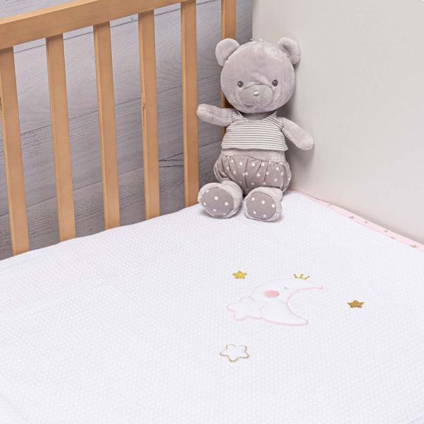 Abo Πικέ κουβέρτα 100x150 cm Moon Princess