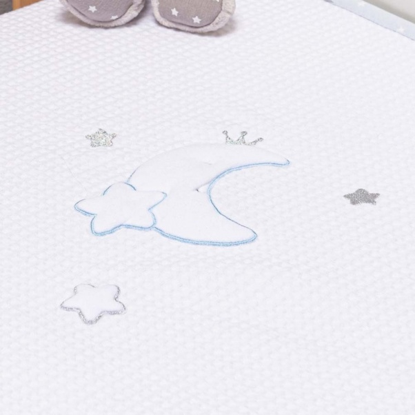 Abo Πικέ κουβέρτα 100x150 cm Moon Prince