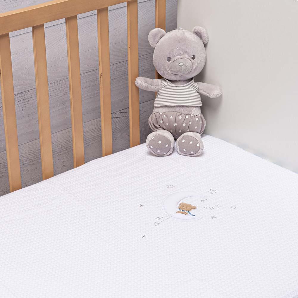 Abo Πικέ κουβέρτα 100*150 MOON BEAR