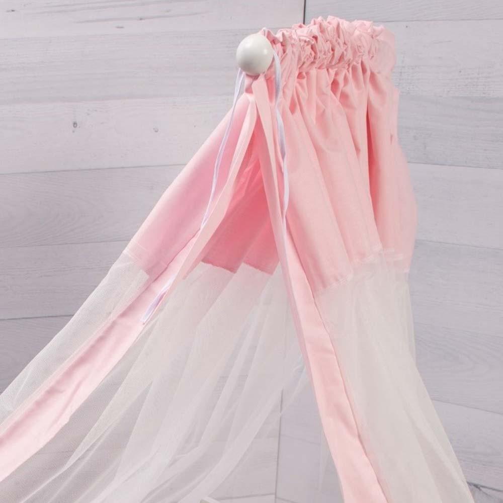 Abo Σετ προίκας 9τμχ70*140 Elephant ροζ