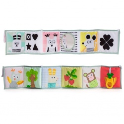 Taf Toys Βιβλίο Δραστηριοτήτων 3 in 1 Baby Book T-12025