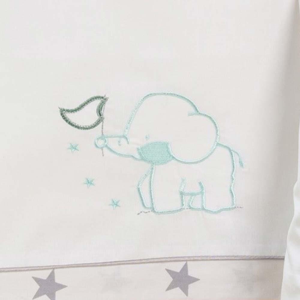Abo Σετ σεντόνια 3τμχ 70*140 Elephant μέντα