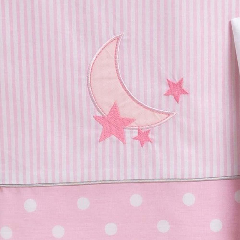 Abo Σετ σεντόνια 3τμχ 70*140 Carousel ροζ