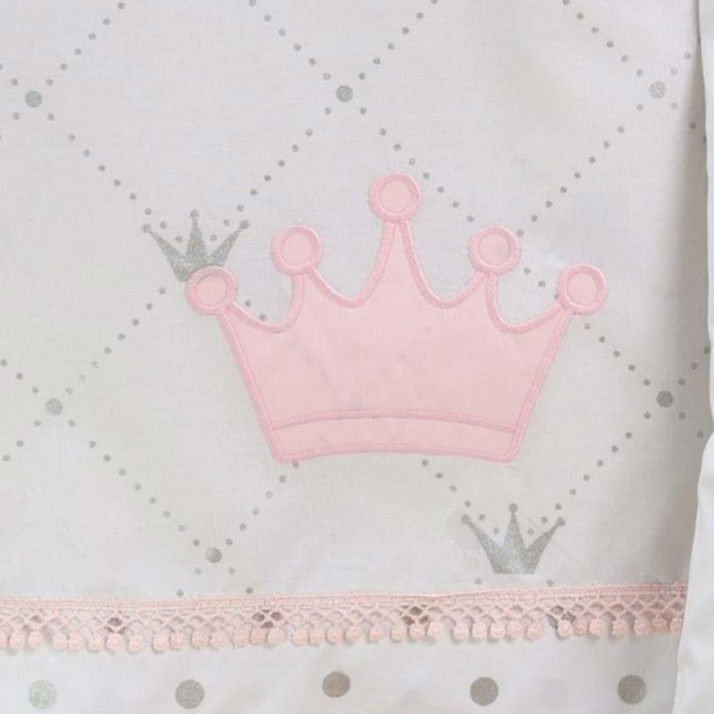 Abo Σετ σεντόνια 3τμχ 70*140 Queens Crown