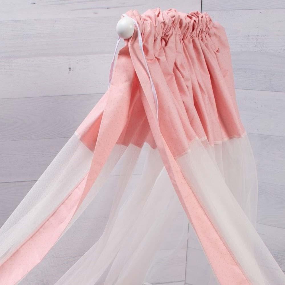 Abo Σετ προίκας 9τμχ  70*140 Carot ροζ