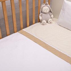 Abo Πικέ κουβέρτα 100x150 cm Filli