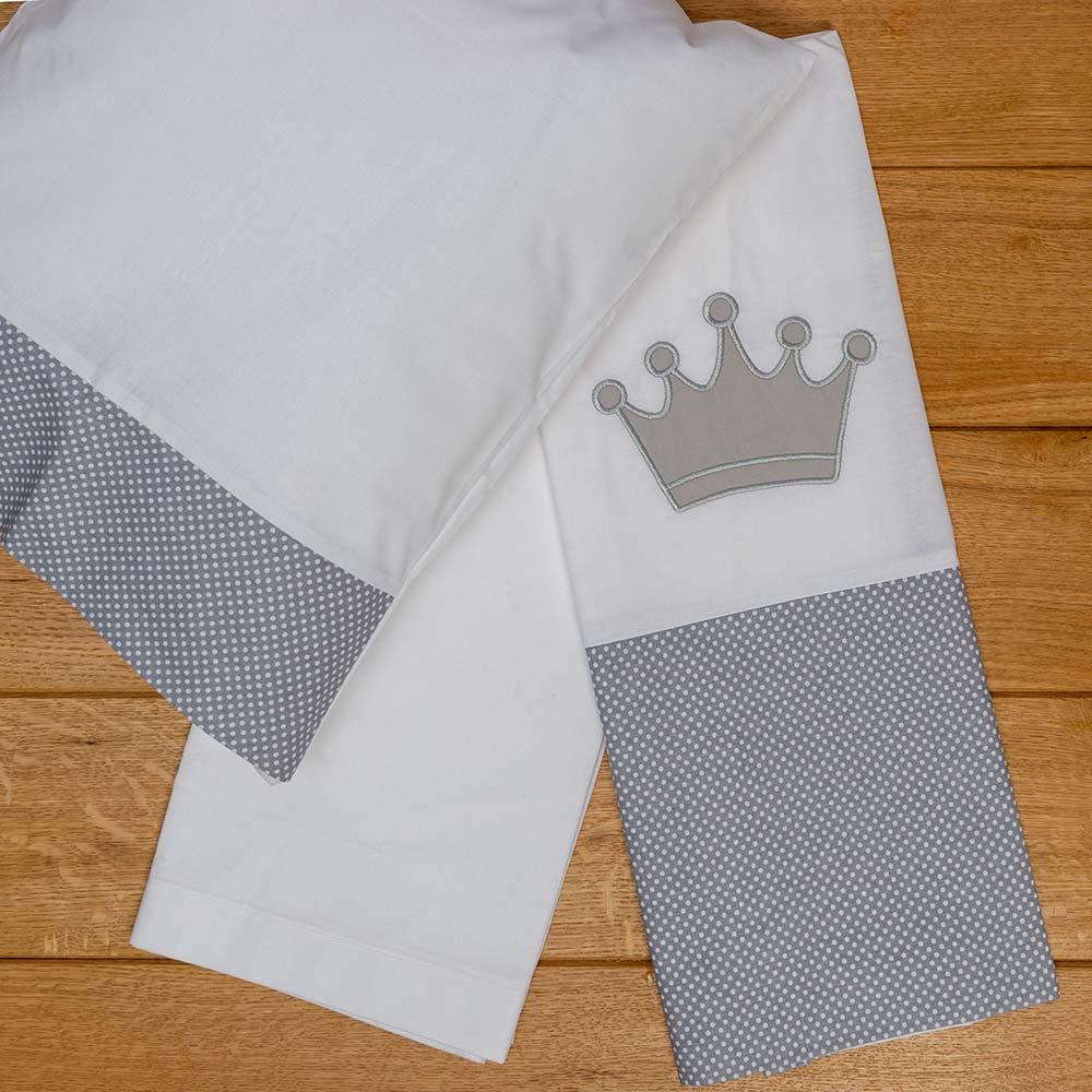 Abo Σετ σεντόνια καλαθούνας-λίκνου 3τμχ royal