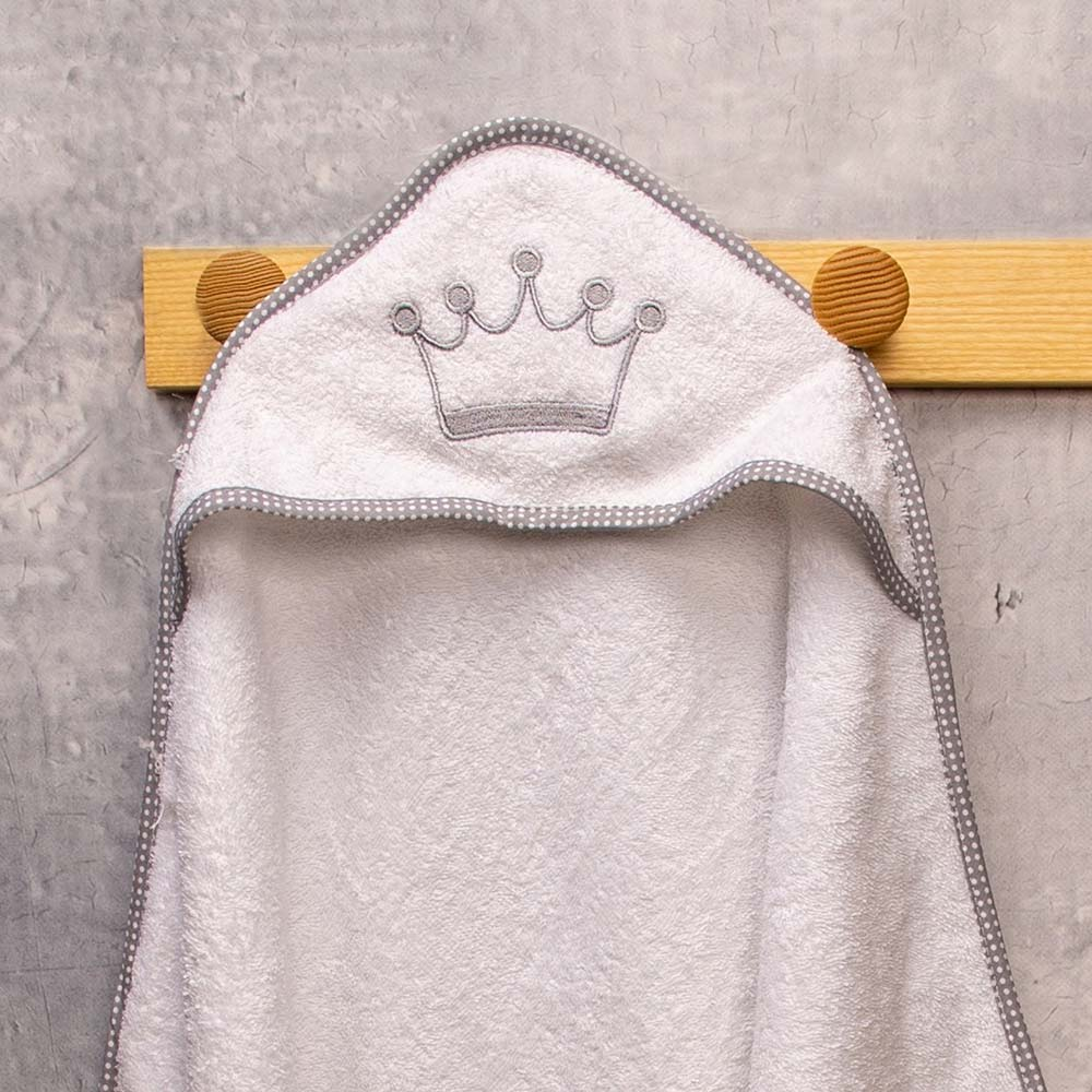 Abo Kάπα-Μπουρνούζι  royal grey