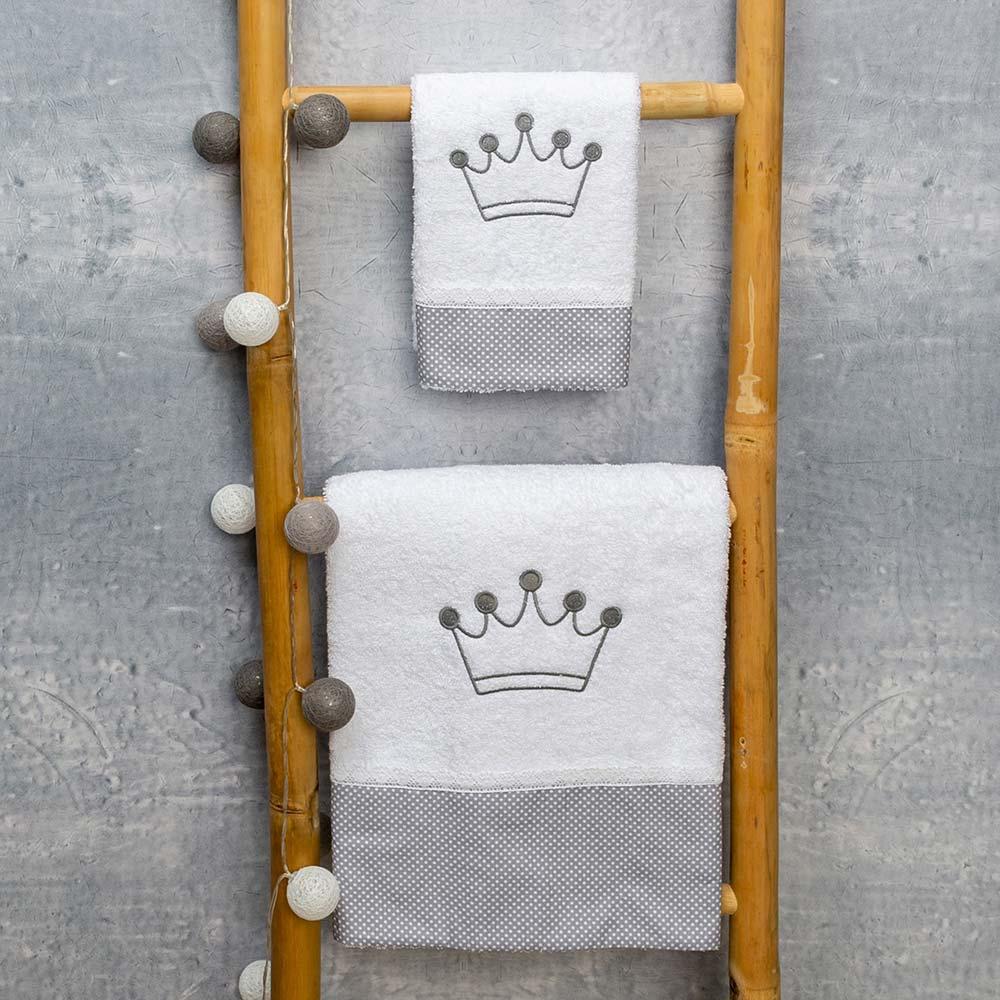 Abo Σετ πετσέτες 2 ΤΜΧ  royal