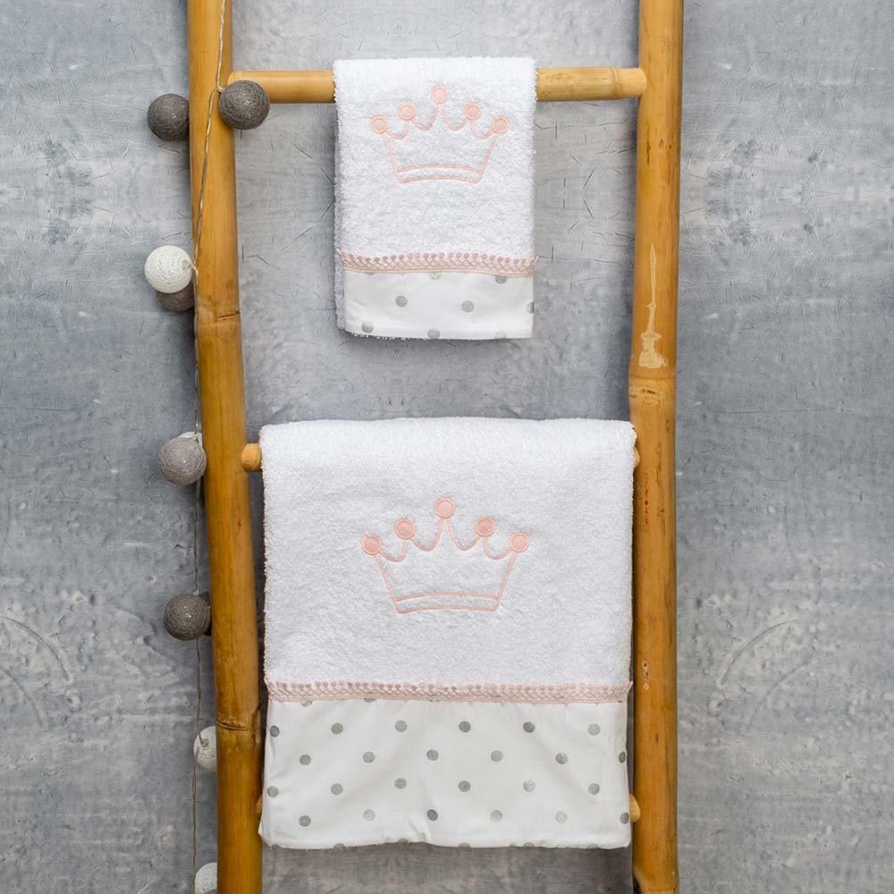Abo Σετ πετσέτες 2 ΤΜΧ  queens
