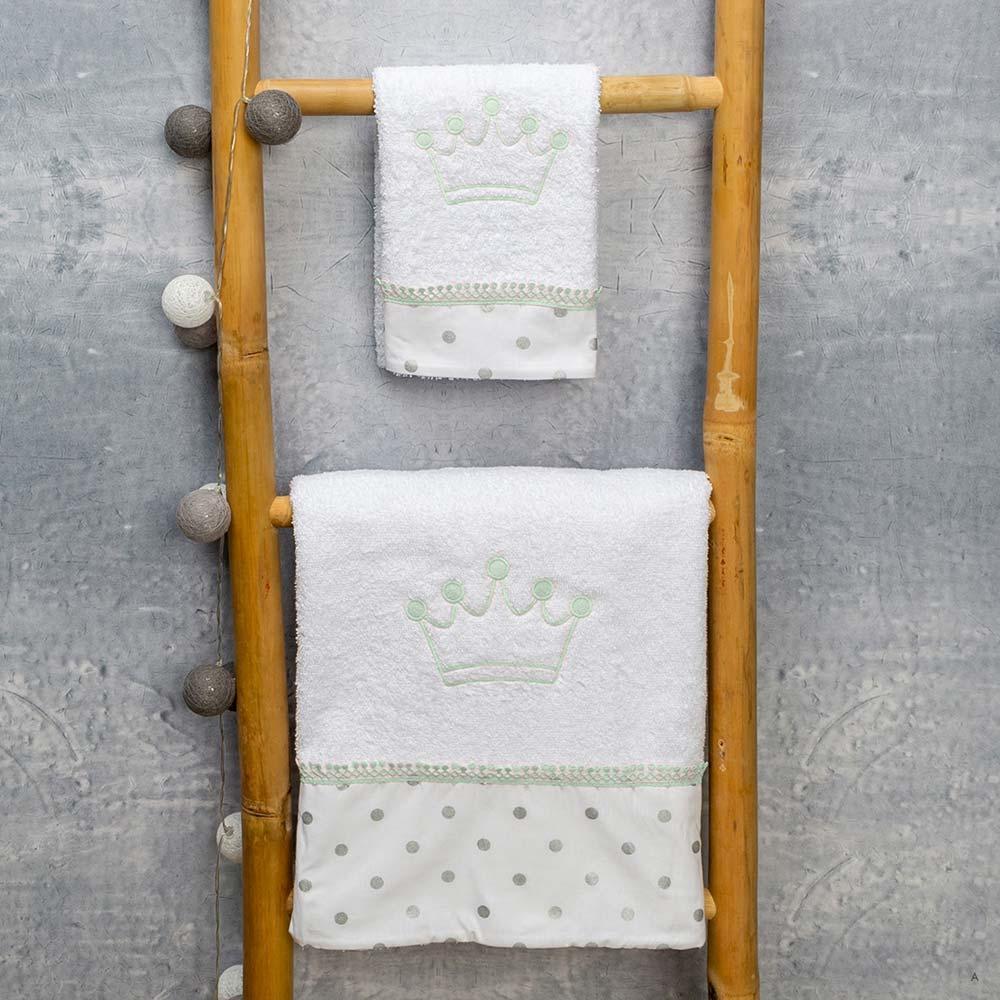Abo Σετ πετσέτες 2 ΤΜΧ  Kings