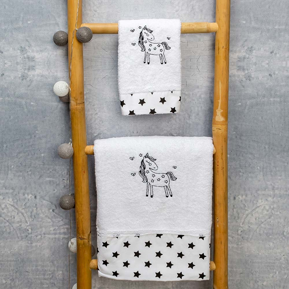 Abo Σετ πετσέτες 2 ΤΜΧ  cookie