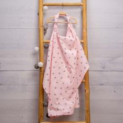 Abo Ποδιά Θηλασμού Ροζ