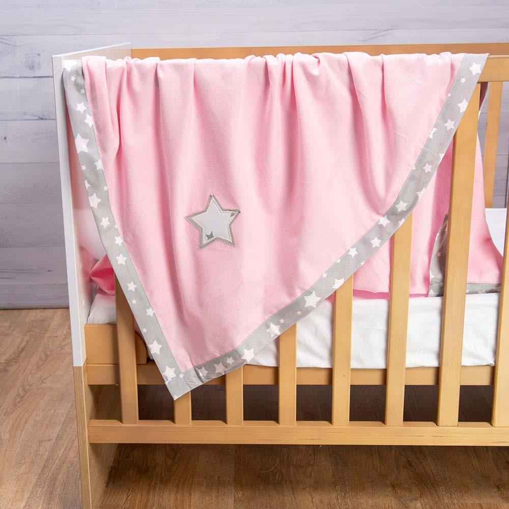 Abo Φανελένια κουβέρτα ροζ